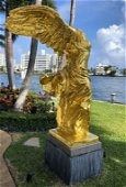 The Winged Victory Nike Samothrace Bronze Statue