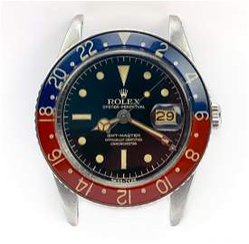 1968 Rolex GMT w/ Pepsi Bakelite Bezel Sport Watch