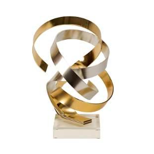 Dan Murphy Abstract Modernist Metal Art Sculpture