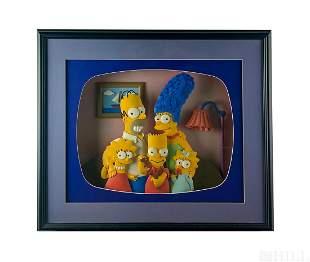 Tim West Matt Groening The Simpsons 3D Sculpture