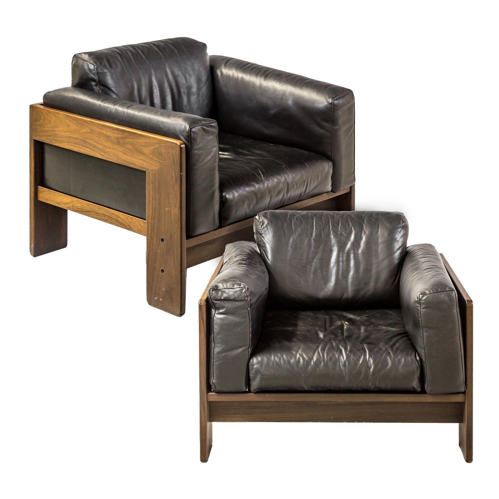 PR Tobia Scarpa Gavina Italian Modern Lounge Chair