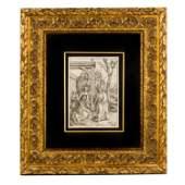 Albrecht Durer (1471-1528) Talking Christ Woodcut