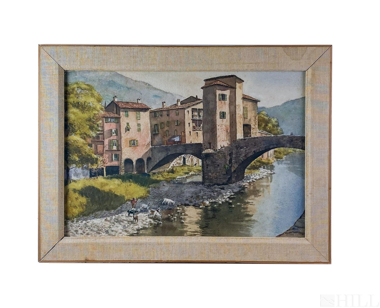 William Timmins 1915-1985 Watercolor Painting