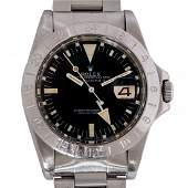 "Rolex 1655 ""Steve McQueen"" Explorer II Wrist Watch"