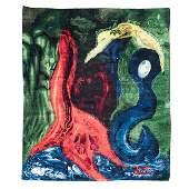 James Akston 18981986 Modern Abstract Wool Carpet