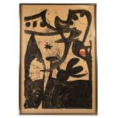 Joan Miro 1893-1983 SIGNED Mannequin Parade Litho