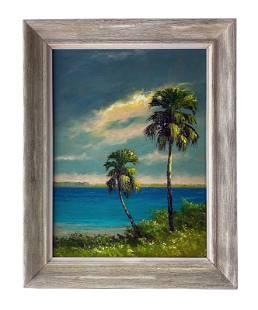 Harold Newton (1934-1994) Florida Highwaymen Painting