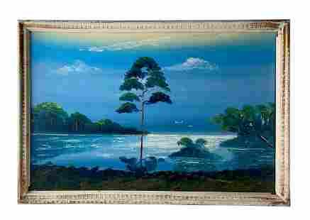 Al Blood Black (b.1947) Florida Highwaymen Painting