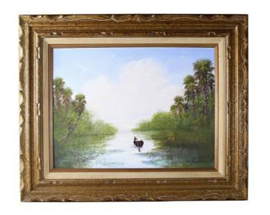 Roy McLendon (b.1932) Florida Highwaymen Painting