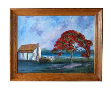 Charles Wheeler (1946-2019) FL Highwaymen Painting