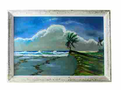 Sylvester Wells (b.1938) Florida Highwaymen Painting