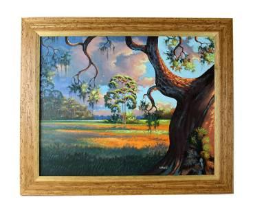 Willie Daniels (b.1950) Florida Highwaymen Painting