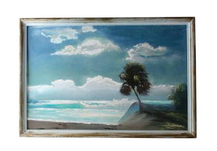 Lemuel Newton (1950-2014) FL Highwaymen Painting