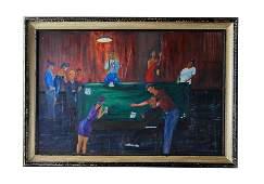 Charles Wheeler (1946-2019) Florida Highwaymen Painting
