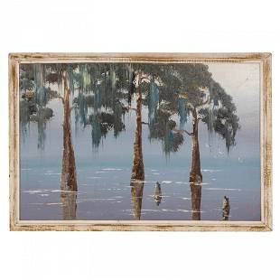 Isaac Knight (b.1941) Florida Highwaymen Painting