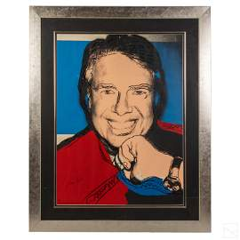 Andy Warhol (1928-1987) Jimmy Carter II SIGNED
