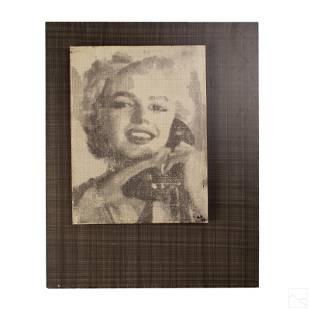 A. Vigilante b1964 Marilyn Monroe Pop Art Painting