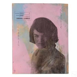 A. Vigilante b1964 Jackie Onassis Pop Art Painting