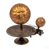 George Philip & Son 19C Antique Mechanical Sundial