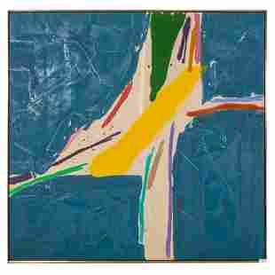 Kikuo Saito 1939-2016 Modern Abstract Oil Painting