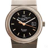 IWC Swiss Porsche Titanium Ladies Date Wrist Watch