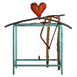 Jim Dine (American, b.1935) Cheer Up Art Sculpture