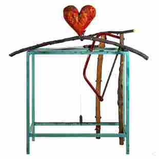Jim Dine (American, b.1935) Cheer Up Art Sculpture