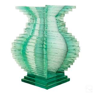 Sydney Hutter b1954 Modern Art Glass Sculpture #15