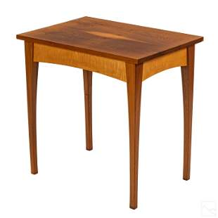 Thomas Moser American Wood Rectangular Side Table