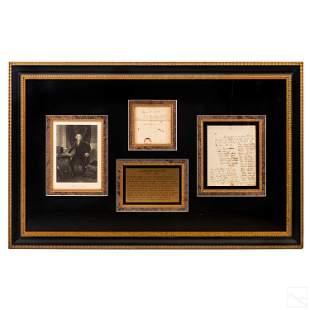 Alexander Hamilton Signed HANDWRITTEN 1792 Letter