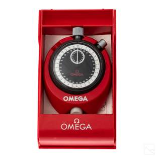 Omega W1732 VTG Stopwatch with Original Stand +Box