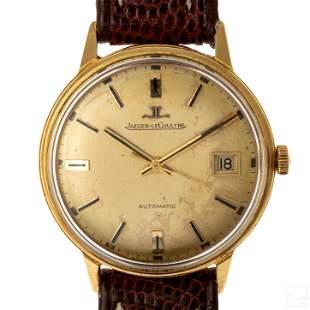 18K Gold Jaeger LeCoultre Men's Automatic Watch