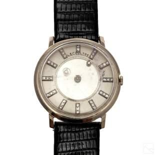 14K Gold Jaeger LeCoultre Vintage Diamond Watch