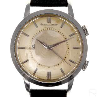 Jaeger LeCoultre Vintage Men's Alarm Wrist Watch