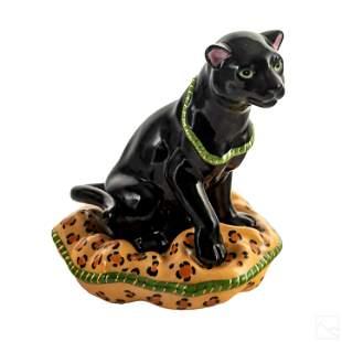 Lynn Chase Porcelain Cat Animal Figurine Sculpture