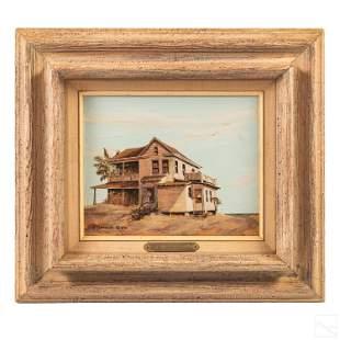 Carol Sadowski b.1929 Key West Landscape Painting
