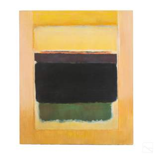 Abstract Modern Oil Paintings after Robert Becker