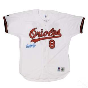 Cal Ripken Jr. SIGNED Baltimore Orioles MLB Jersey