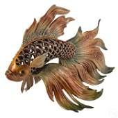 Jay Strongwater SIGNED Large Namoko Fish Figurine