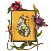 Jay Strongwater Orchids  Bee Large Picture Frame