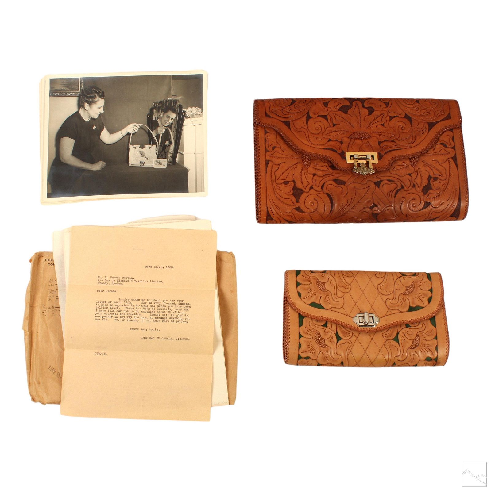 Queen Elizabeth Bespoke Leather Coronation Handbag
