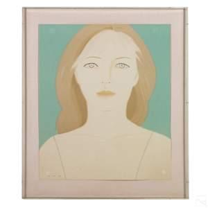 Alex Katz (b.1927) Signed LE Anastasia Serigraph