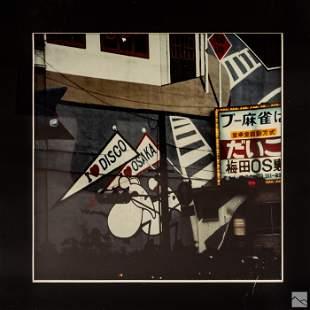 Robert Rauschenberg (1925-2008) Osaka Street Photo