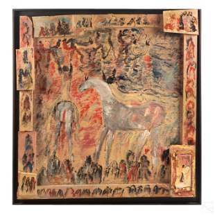 Purvis Young 1943-2010 American Outsider Painting