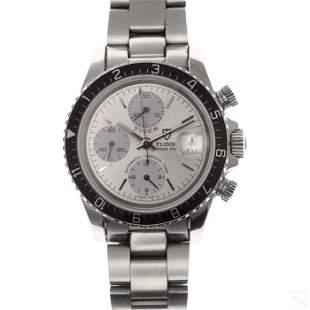 "Rolex Tudor Tiger Chronograph 79270 7"" Wrist Watch"