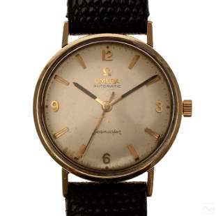 Omega Seamaster 14K Gold Filled Automatic Watch