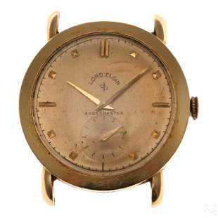 Lord Elgin 14K Gold 21 Jewel Working Wrist Watch