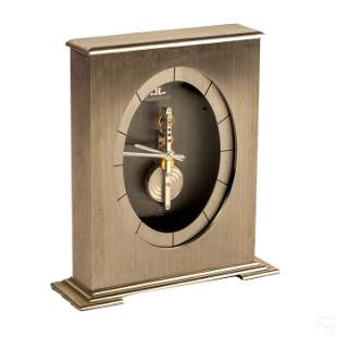 Jaeger LeCoultre Modern Swiss Desk Clock Model 548
