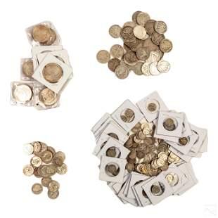 $54 of 90% Silver US Coins Barber $1 Morgan Dollar