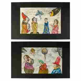 Ramon Carulla (b.1936) Dreams Oil Paintings Group